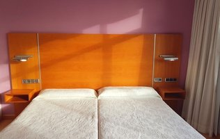 Double room City House Marsol Candás Hotel