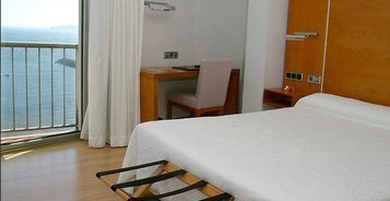 single rooms City House Marsol Candás Hotel